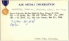 Evert McMonigle's Air Medal card on page 1012 at https://catalog.archives.gov/id/143751553 (NARA)