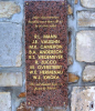 """The stele in Brix, France in memory of the 9 crew members who were killed in the crash of B-17 #42-37890 on 20 March 1944. """"They gave their lives for our freedom."""" -  Photo Patrick Boyer ( https://www.aerosteles.net/stelefr-brix-b17 )"""