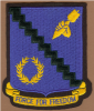 This insignia for the 98th Bombardment Group, The Pyramiders,  is believed to be the original correct colors. The zig-zag black line was mainly painted yellow in North Africa