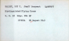 Roy Nalley's Distinguished Flying Cross (DFC) card on page 668 at https://catalog.archives.gov/id/133417861   (NARA) - The card has his ASN wrong. It should be 15067557...