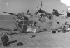 B-24D - #41-24301 'Lady Be Good' Crashed in the Libyian desert, 1943.  All  crewmen bailed out over the desert after being unable to find Benina Air Base at Benghazi on the Libyan coast  in the dark after a late bombing mission to Naples Harbor. The bombardier, Lt. Robert F. Toner was killed after bailing out because his chute did not deploy fully. The rest of the crew died in the Libyan desert trying to walk out of the area. All crewmen KIA, 1943