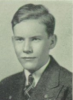Norman William Hall, 1939 Yearbook Photograph.