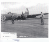 Ground personnel of the 379th Bomb Group attend to a B-17 Flying Fortress (FR-C, serial number 42-38183) nicknamed