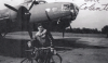 Bill Colantoni of the 306th Bomb  Group with a B-17 Flying Fortress (serial number 41-9085) nicknamed